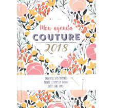 Livre Mon agenda couture 2018