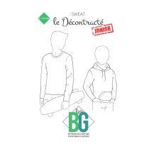 Patron de sweatshirt Junior Le Décontracté