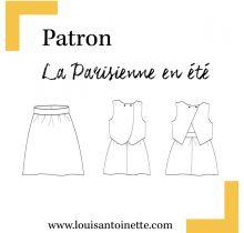 Patron La parisienne en été Louis Antoinette