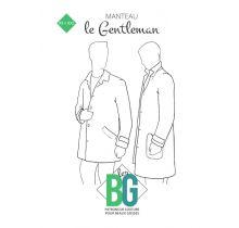 Patron de manteau homme Le Gentleman