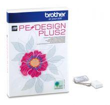 Logiciel de création de broderie PE-Design Plus2