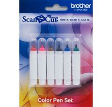 Kit 6 stylos couleur permanents ScanNcut
