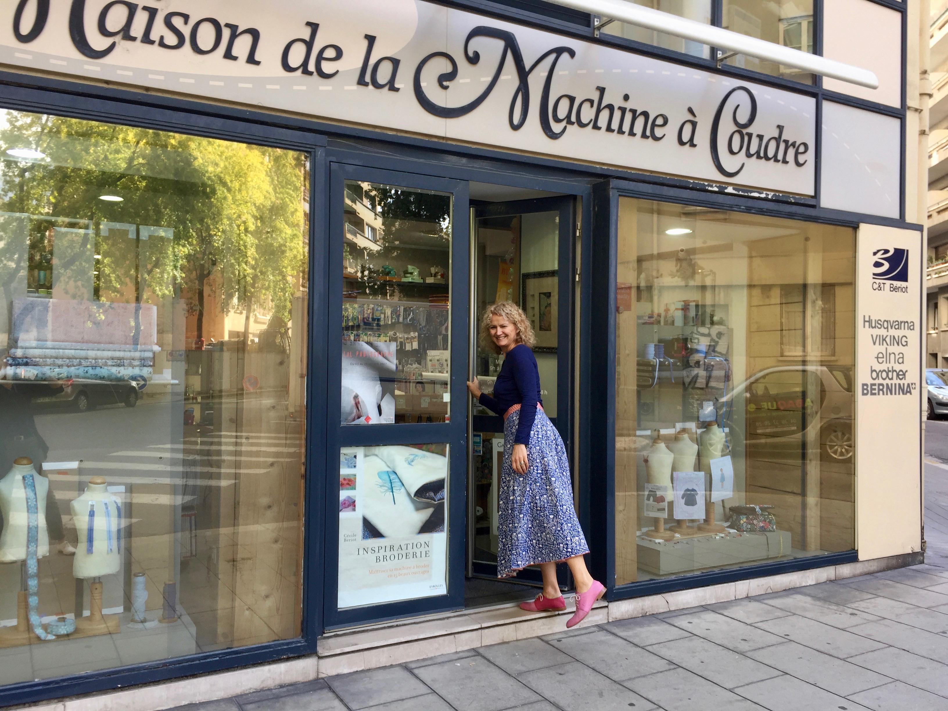 Cécile Bériot, la passion de la couture comme fil conducteur