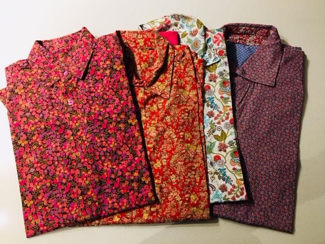 Coudre une chemise et bien choisir la forme de son col