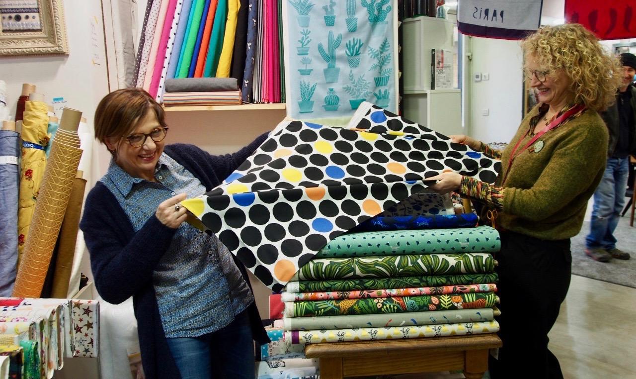"""Nos clientes ont du talent #1 : la couture de Nathalie du blog """"53 sous les toits"""""""