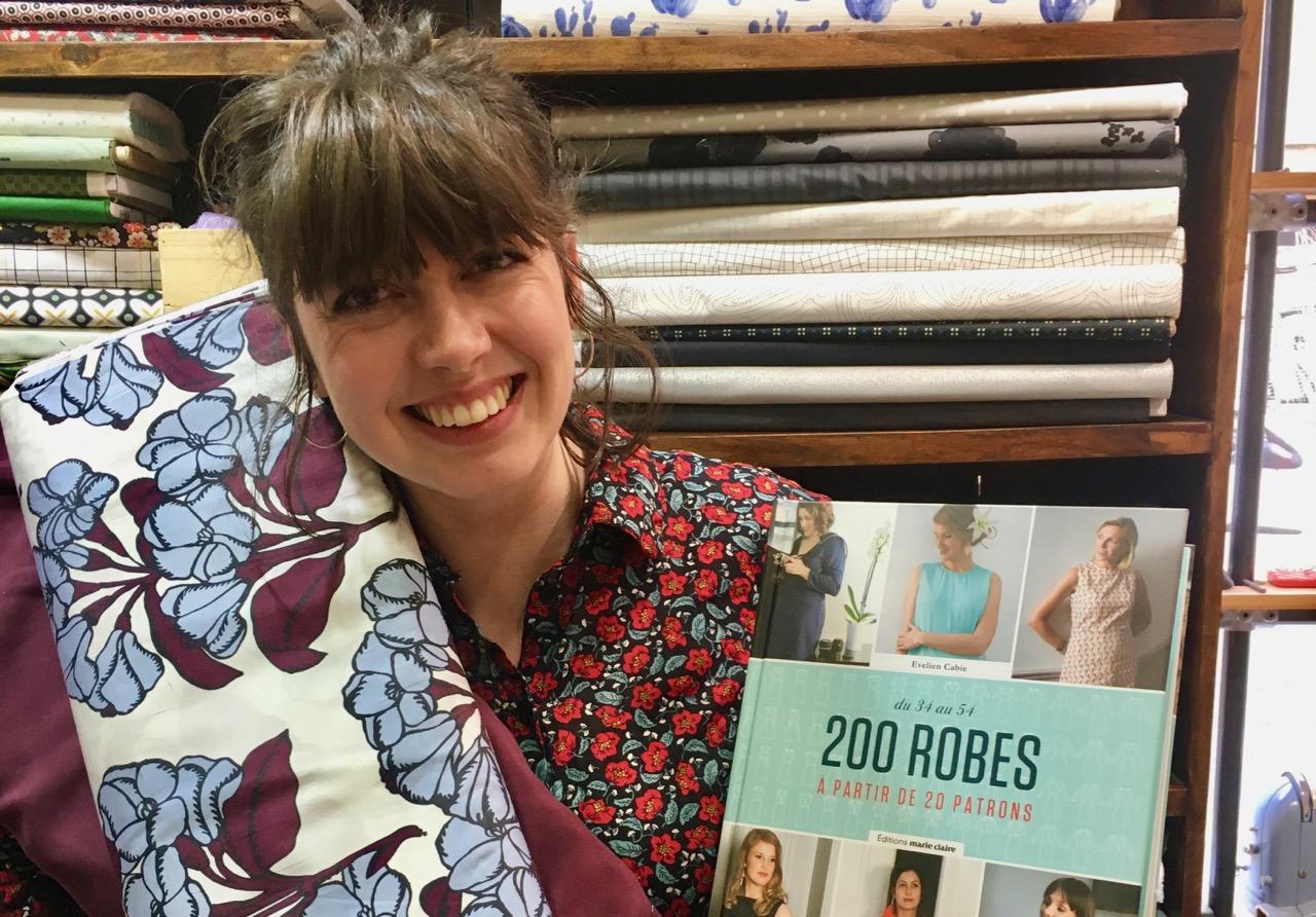 Couture du printemps 2019 : les choix de patrons et tissus de la boutique