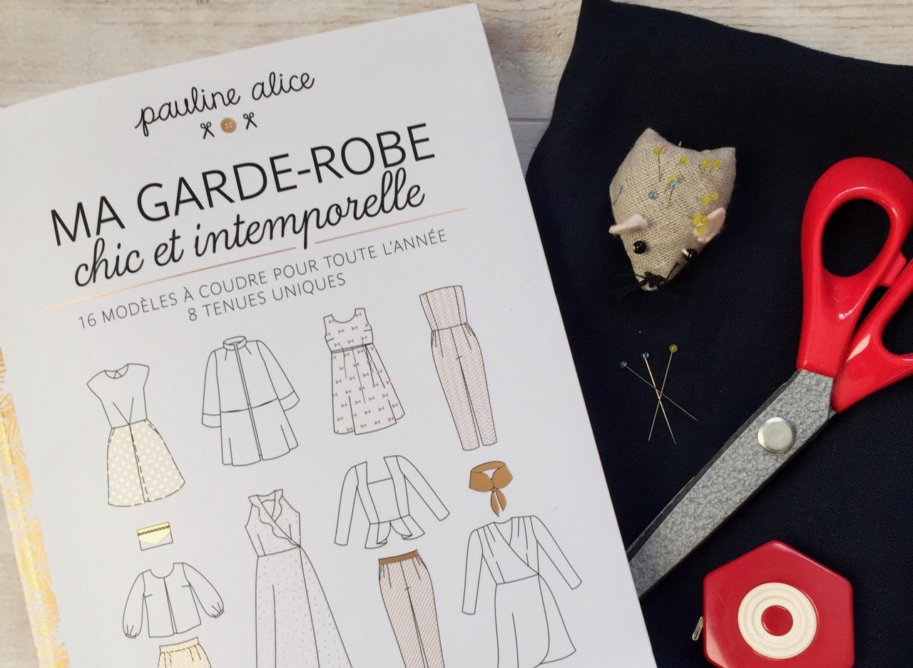 """Ma garde-robe chic et intemporelle"" le livre de ""pauline-alice"""