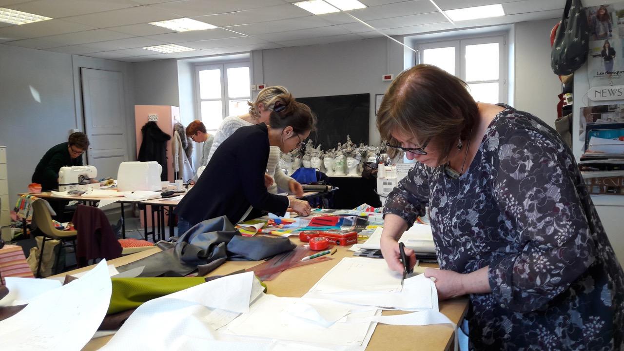 Cours de couture cabas Rozenn Saby Grenoble
