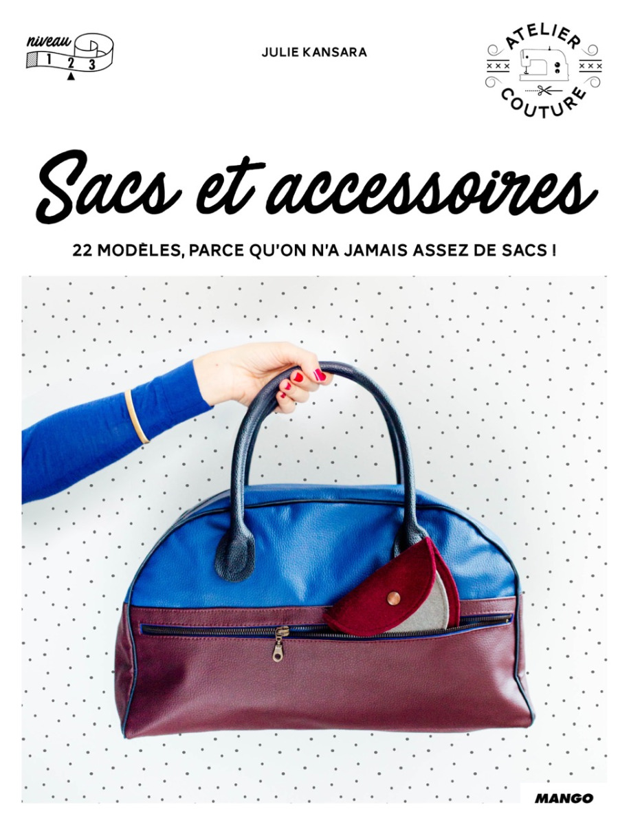 """couverture du livre """"sacs et accessoires"""" julie kansara mango"""