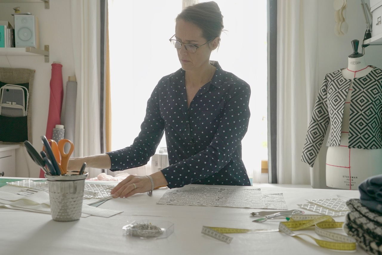 Rozenn Saby Professeur de couture Grenoble