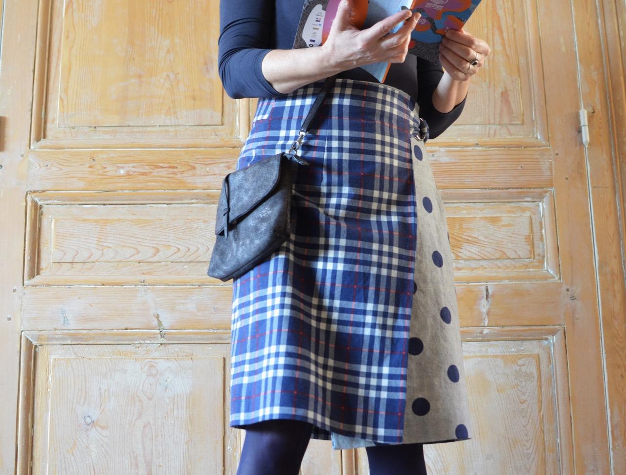 coudre jupe portefeuille named la maison de la couture grenoble
