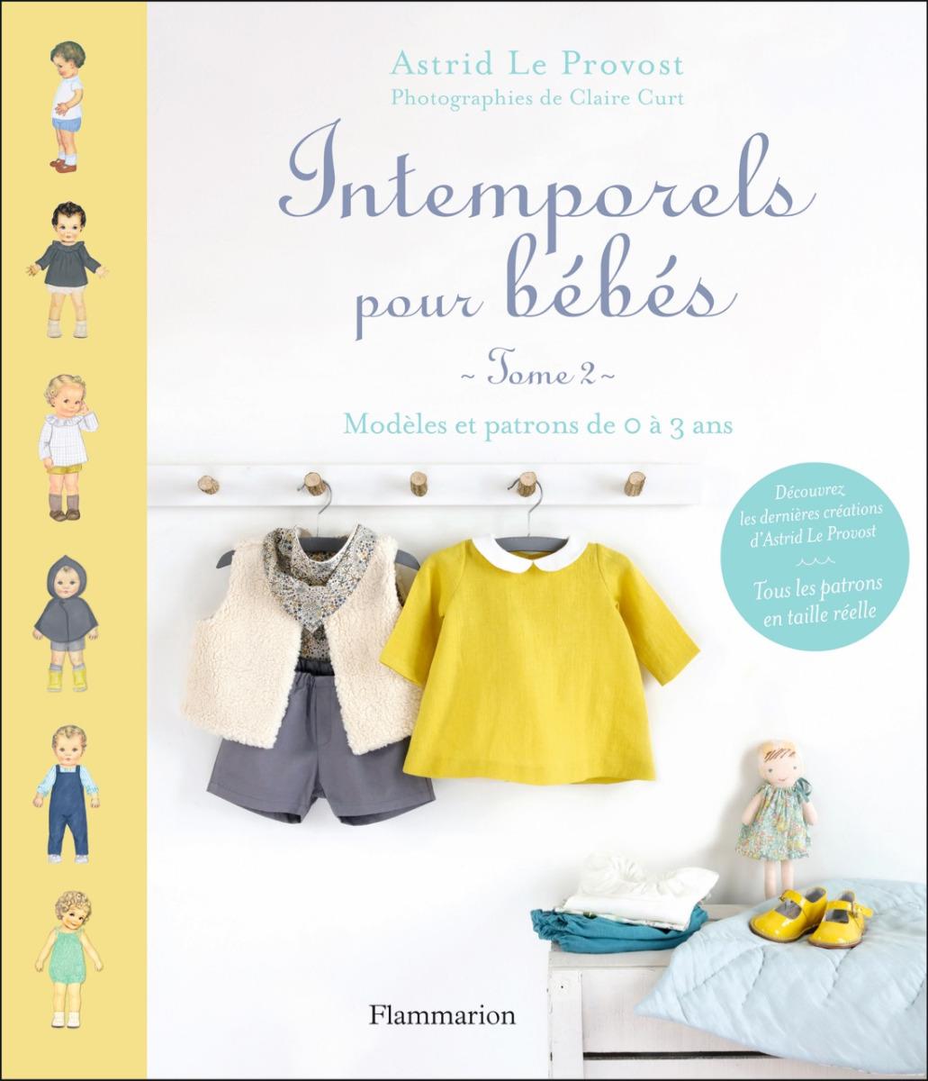 Couverture du livre intemporels pour bébé tome 2