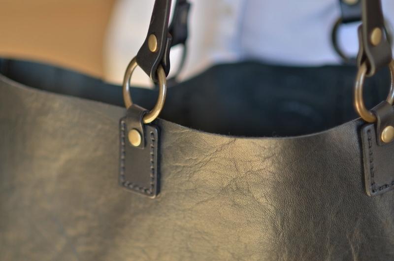 anses en cuir pour coudre sac la maison de la couture Grenoble