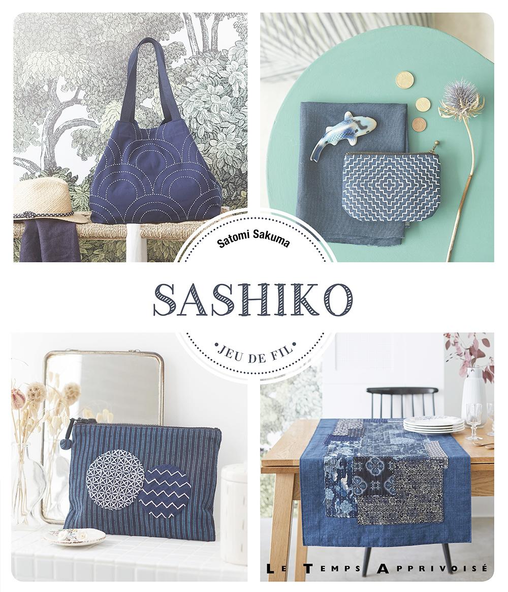 livre Sashiko Satomi Sakuma Le temps apprivoisé