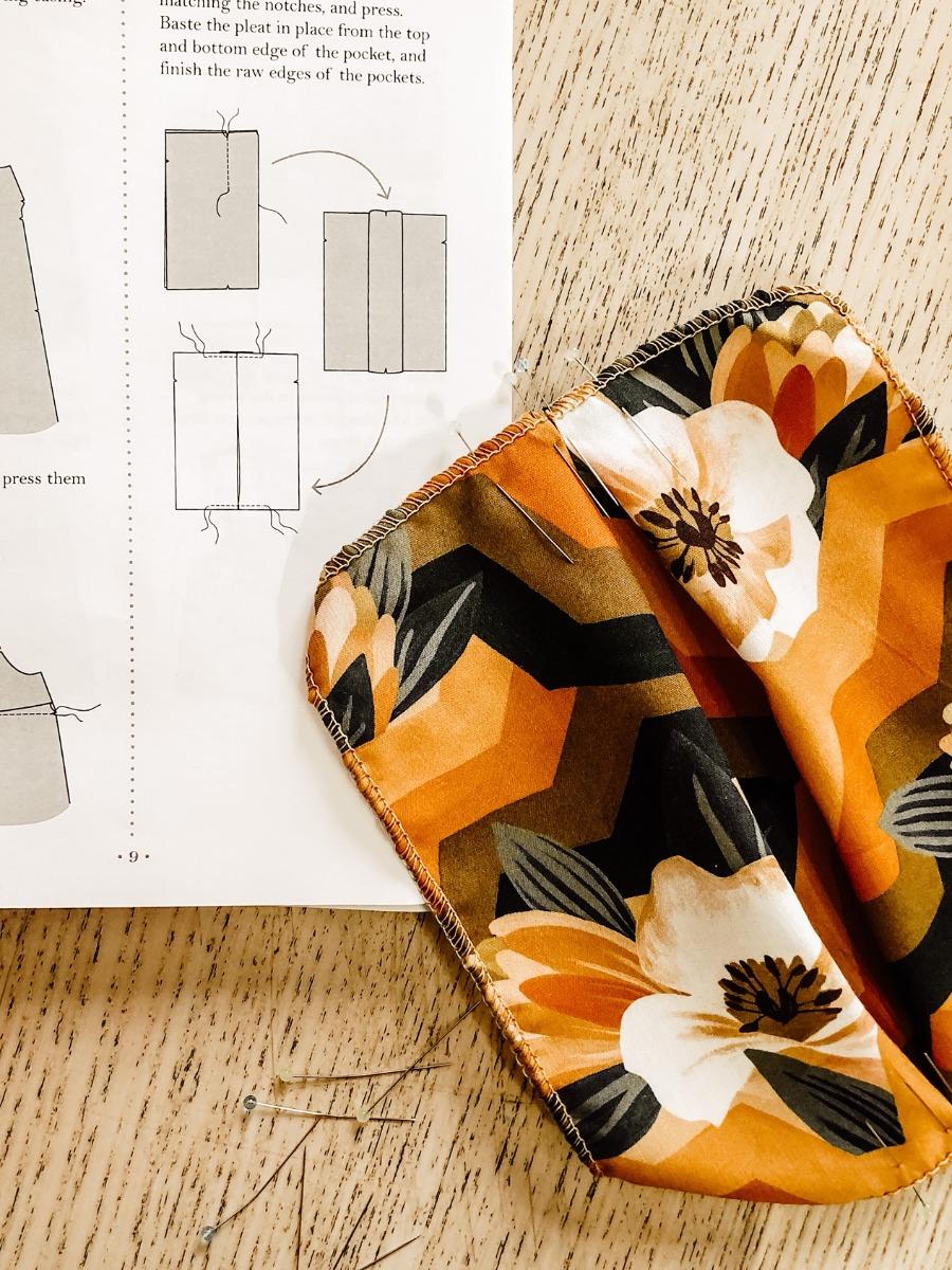 montage couture robe Reeta