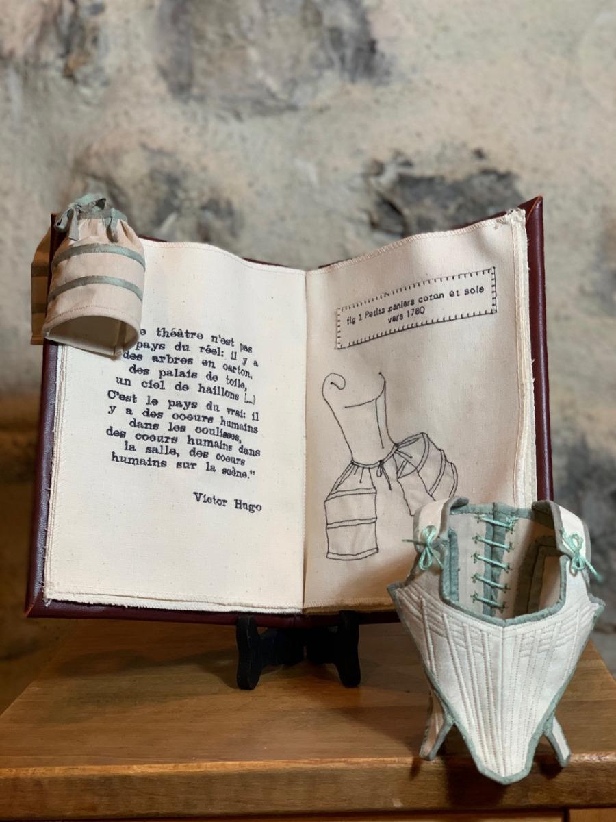 corset-miniature-couture-concours des 20 ans de la maison de la couture à Grenoble