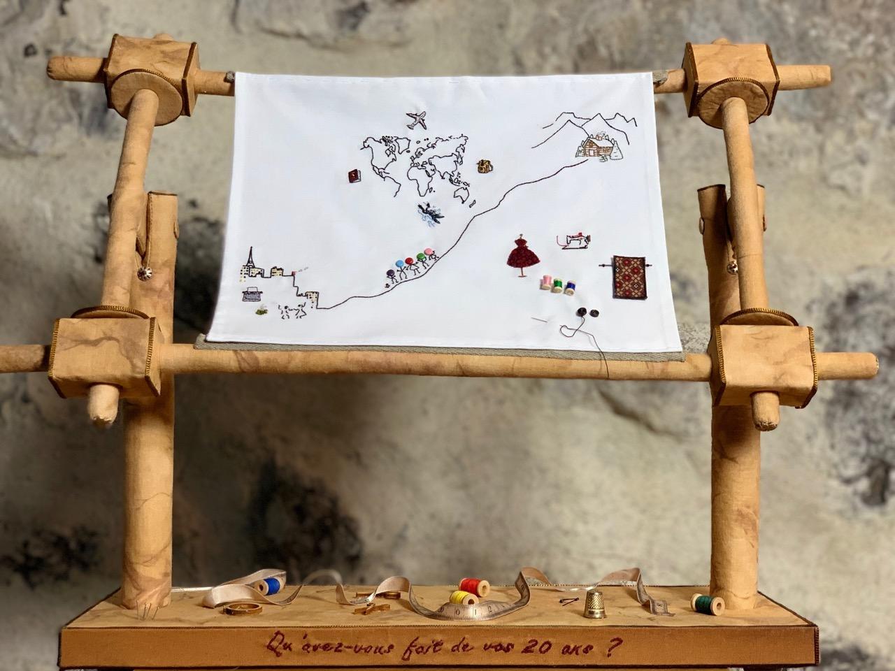 1er prix du concours pour les 20 ans de la maison de la couture à Grenoble