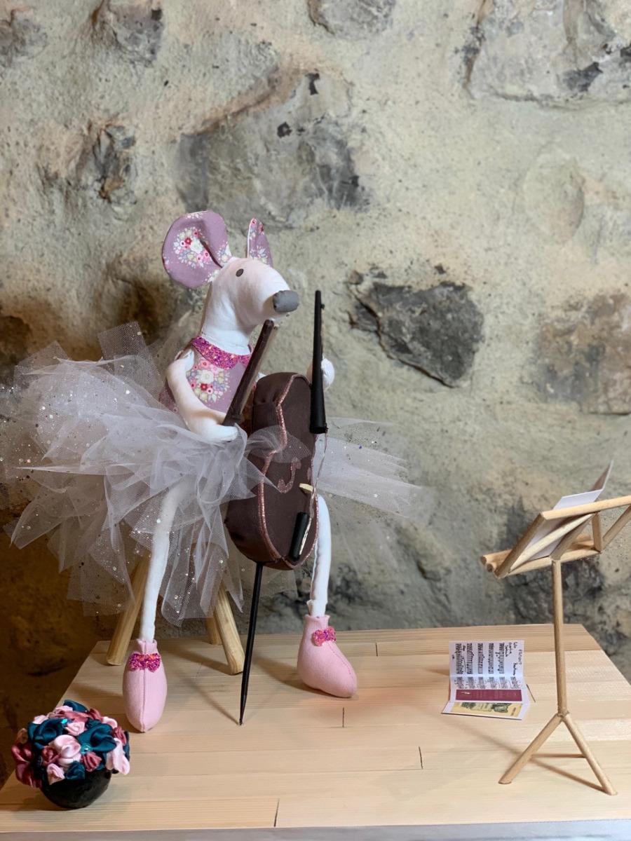 souris cousue en 3D concours des 20 ans de la maison de la couture à Grenoble prix du jury